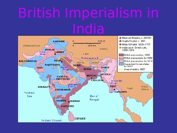 India during the Age of Imperialism