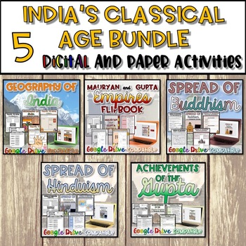 India's Classical Age Bundle {Digital AND Paper}