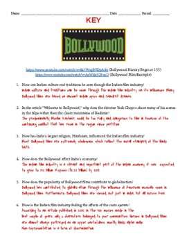 India's Culture and Current Events through Bollywood