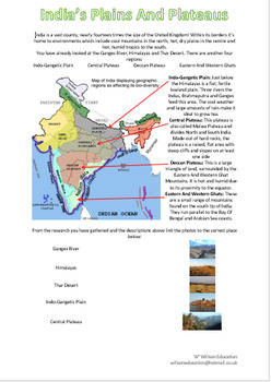 plains and plateaus of india