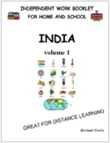 India, volume 1, literacy, anti racism, distance learning, social studies (1220)