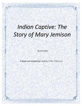 Indian Captive Novel Unit Plus Grammar