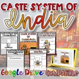 Caste System of Ancient India {Digital AND Paper} Distance Learning