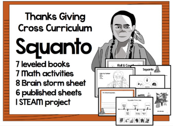 Native American Thanks Giving Cross Curriculum