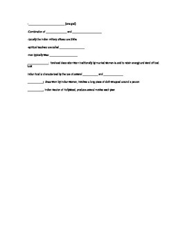 Indian Culture Notes