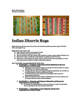 Indian Dhurrie Collage Rugs