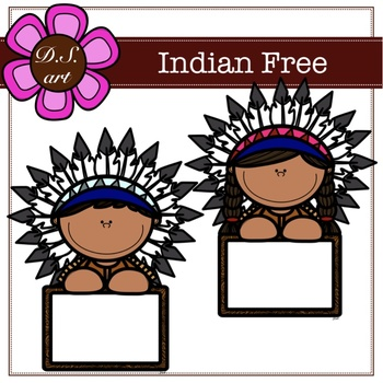 Indian FREE Digital Clipart (color and black&white)