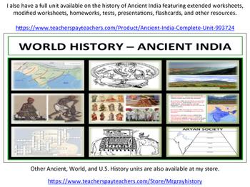 Indian Geography - Homework