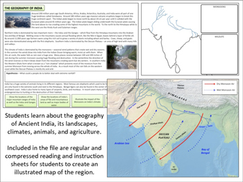 Indian Geography - Homework