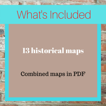 Indian History Maps and Puzzles