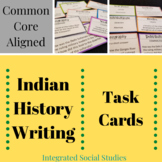 Indian History Writing Task Cards
