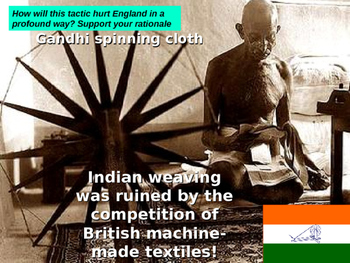 Indian Nationalism / Gandhi