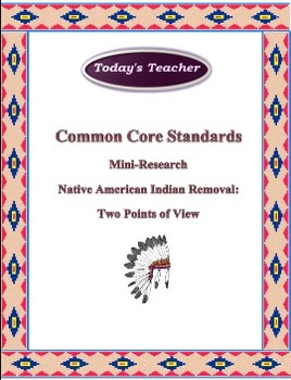 Native American Indian Removal
