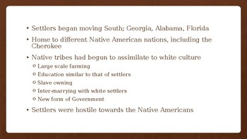 Indian Removal Act Powerpoint