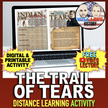Indian Removal and the Trail of Tears Activity