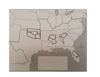 Indian Removal Map Activity