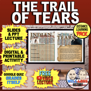 Indian Removal and the Trail of Tears Bundle
