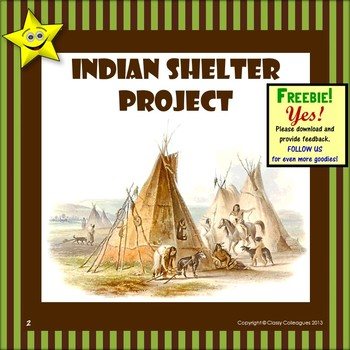 Native Americans - Indian Shelter Project