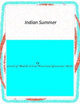 Indian Summer Literature and Grammar Unit