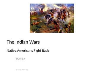 Indian Wars- PowerPoint Presentation
