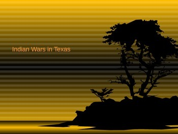 Indian Wars in Texas after the Civil War