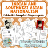 Indian and Southwest Asian Nationalism Foldable Graphic Or