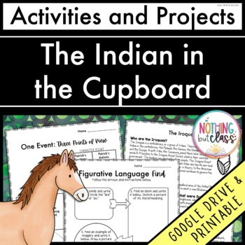 The Indian in the Cupboard: Reading Response Activities and Projects