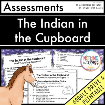 The Indian in the Cupboard: Tests, Quizzes, Assessments