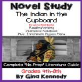 The Indian in the Cupboard Novel Study & Enrichment Projects Menu