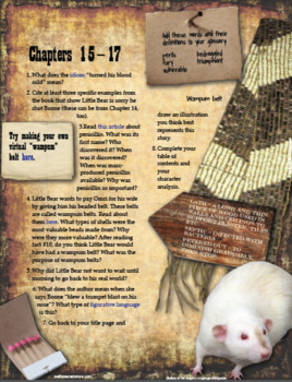 Indian in the Cupboard Internet Book Project
