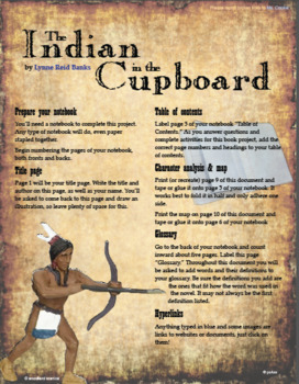 Indian in the Cupboard Hyperdoc Project