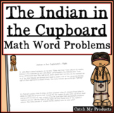 The Indian in the Cupboard: Math Word Problems for Novel by Lynn Reid Banks