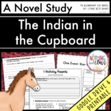 The Indian in the Cupboard Novel Study Unit: comprehension, activities, tests