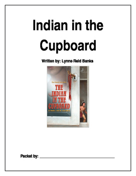 Indian in the Cupboard Novel Study Guide