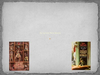 Indian in the Cupboard Powerpoint- Book Intro, Vocab, Link