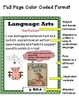 """Indiana 3rd Grade Language Arts Standards """"I Can Statements"""""""