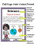 """Indiana 5th Grade Science """"I Can Statements"""""""