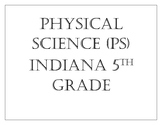 """Indiana 5th Grade Science """"I Can"""" Statements"""
