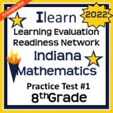 Indiana 8th Grade Mathematics (ILEARN) Practice Test #1