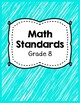 Indiana Academic Standards Checklist.Grade 8