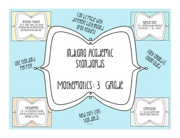 Indiana Academic Standards: Math 3rd Grade