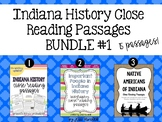 Indiana Close Reading Passages BUNDLE
