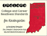 Indiana College & Career Readiness Standards Checklist & Display: Kindergarten