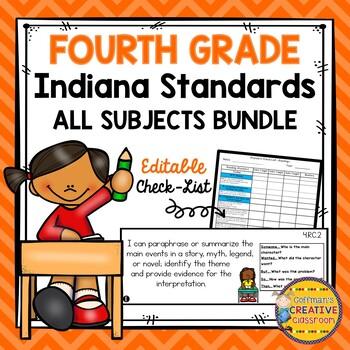 Indiana Standards Fourth Grade