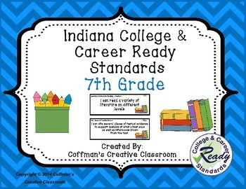 Indiana College and Career Ready Standards- 7th Grade