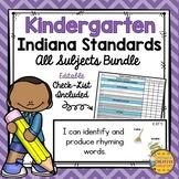 Indiana Standards for Kindergarten