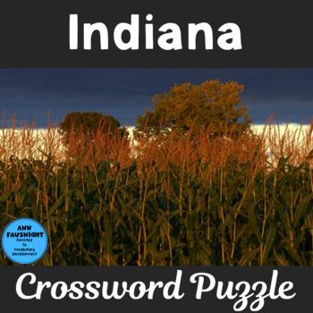 Indiana Crossword Puzzle