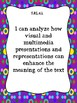 Indiana ELA 5th Grade - I Can Statement Posters and Teacher Checklists