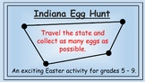 Indiana Easter Math Activity