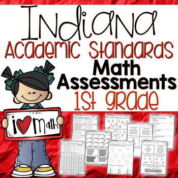 Indiana First Grade Math Assessments { New Standards }